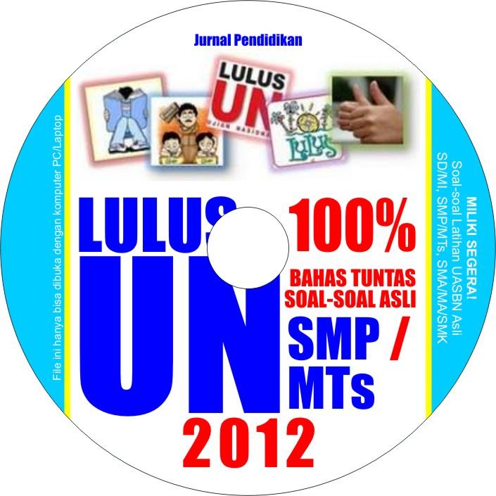 Latihan Soal-soal Asli UN SMP 2012